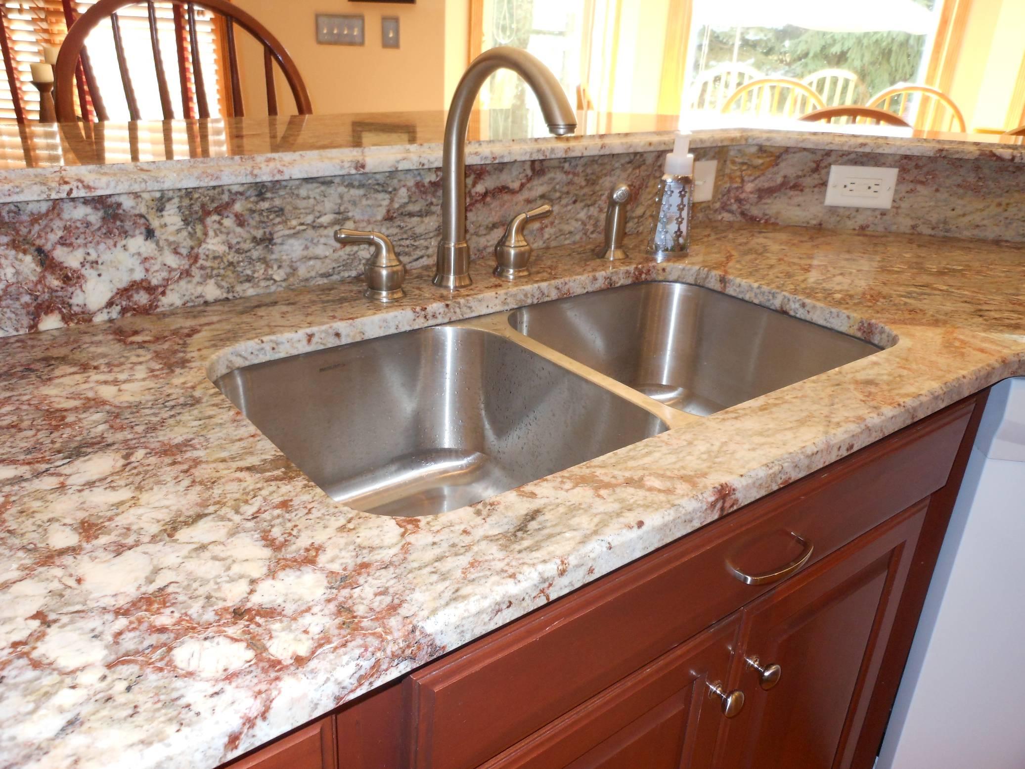 Great Stainless Steel Undermount Sink On Granite
