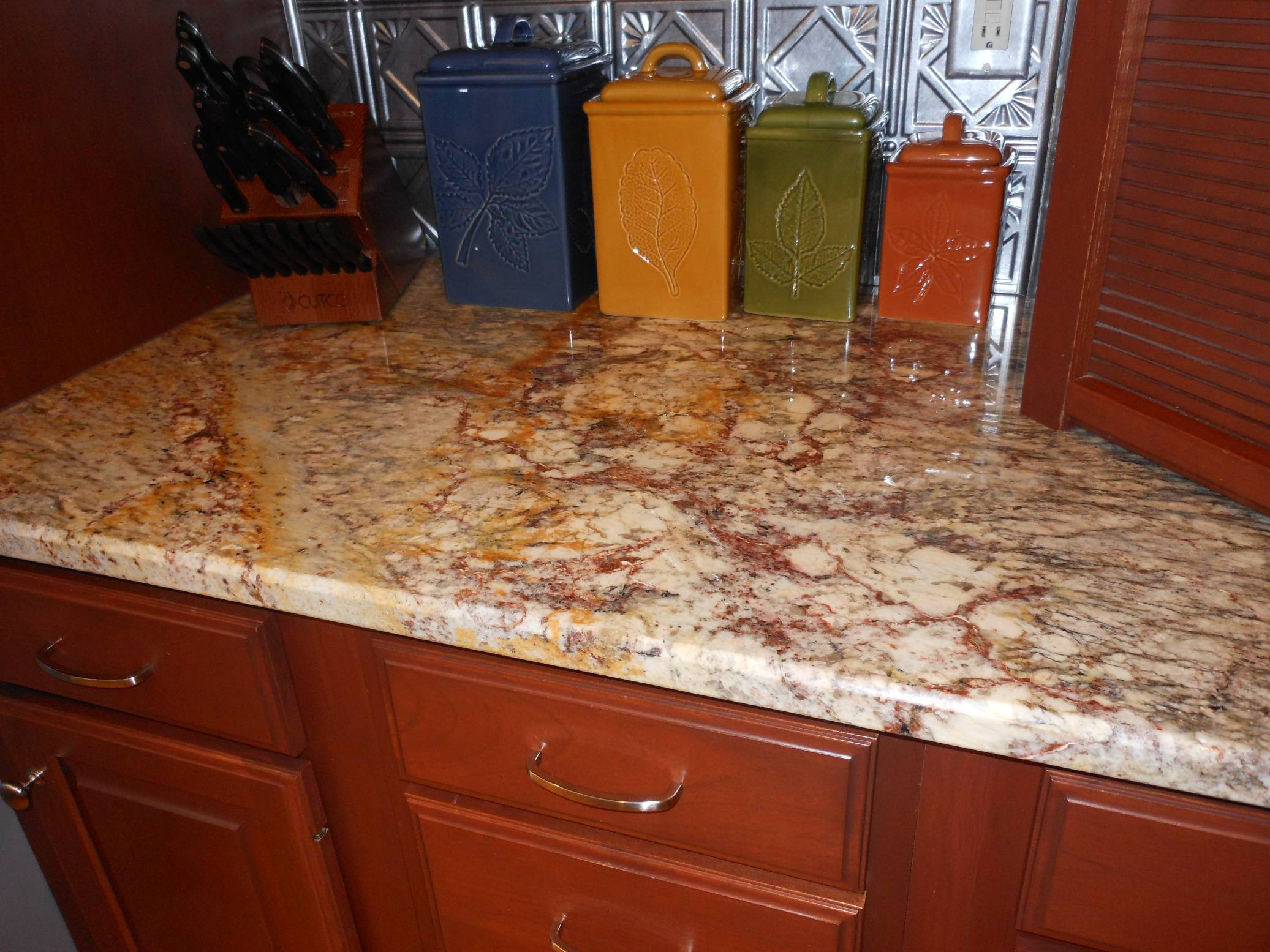 Typhoon Bordeaux Granite Kitchen Quartz And Granite Cabinets2countertops